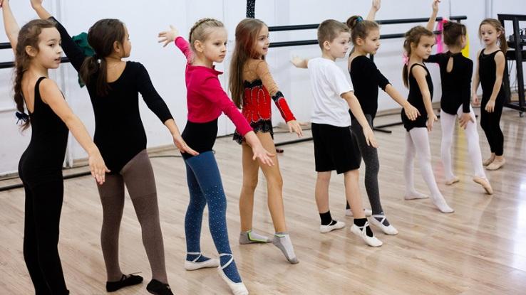 Открытый урок танцев для детей