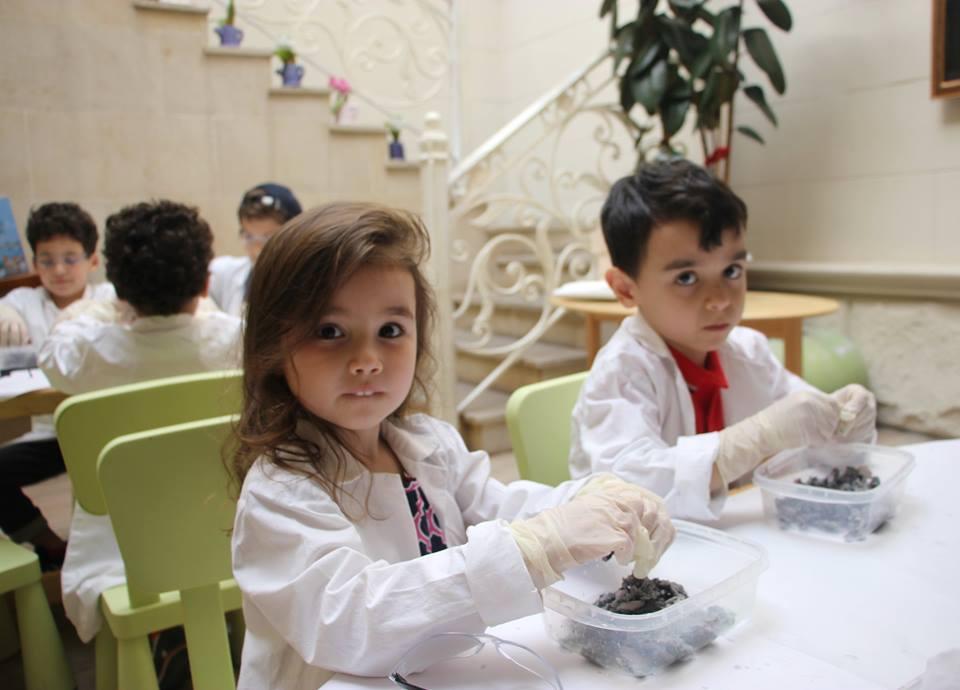Праздничная лаборатория для детей