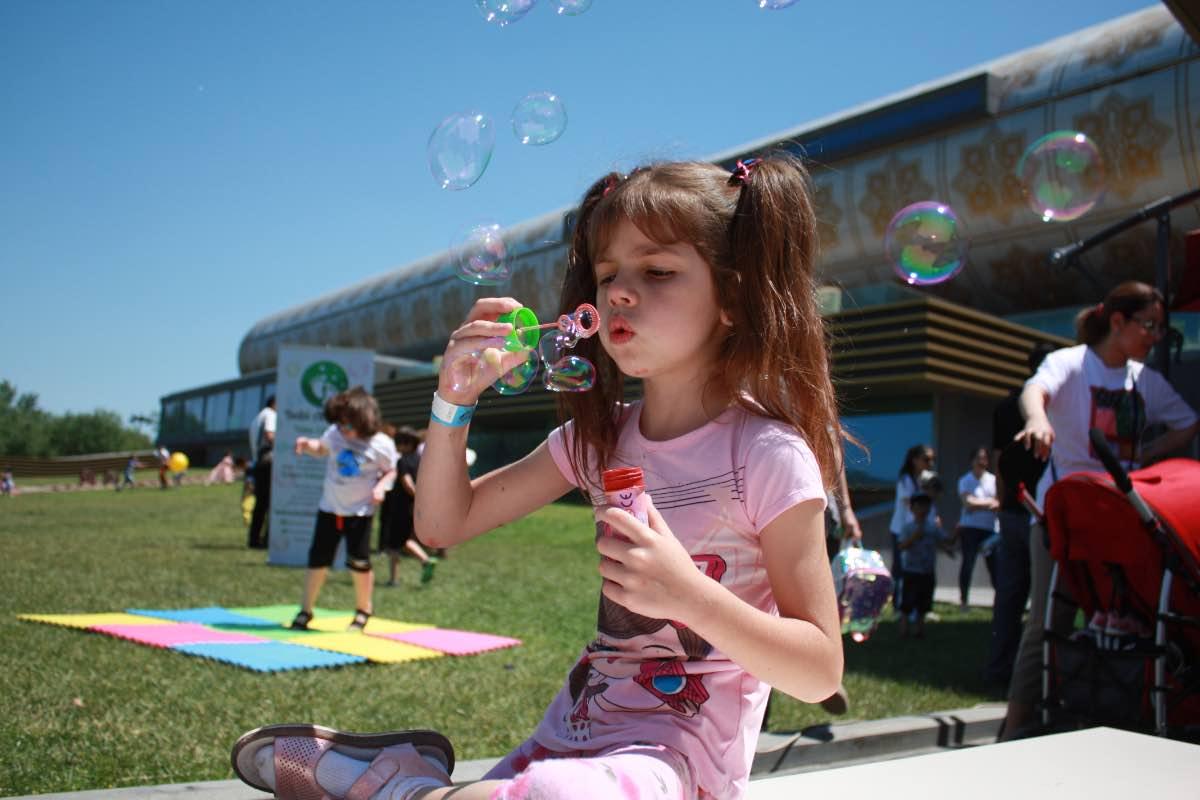 В Музее ковра состоялся большой детский праздник