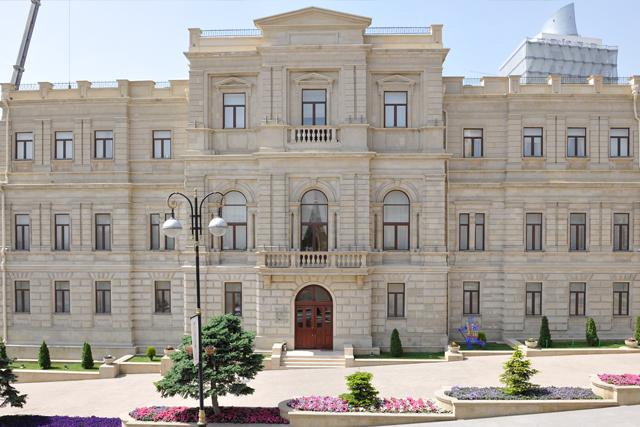 Национальный музей искусств Азербайджана