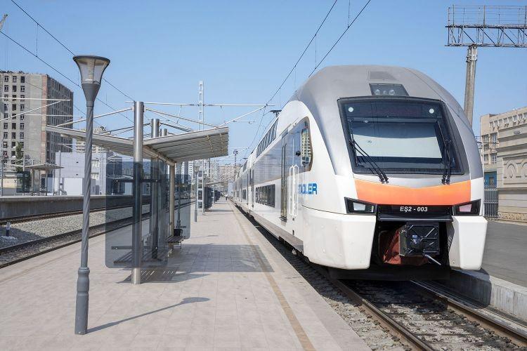 Запущена электричка по маршруту Баку – Сабунчи - Баку
