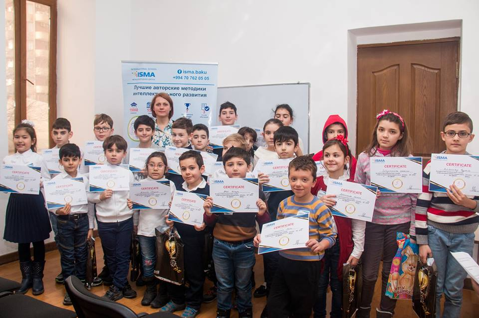 International school of mental arithmetic ISMA Azerbaijan