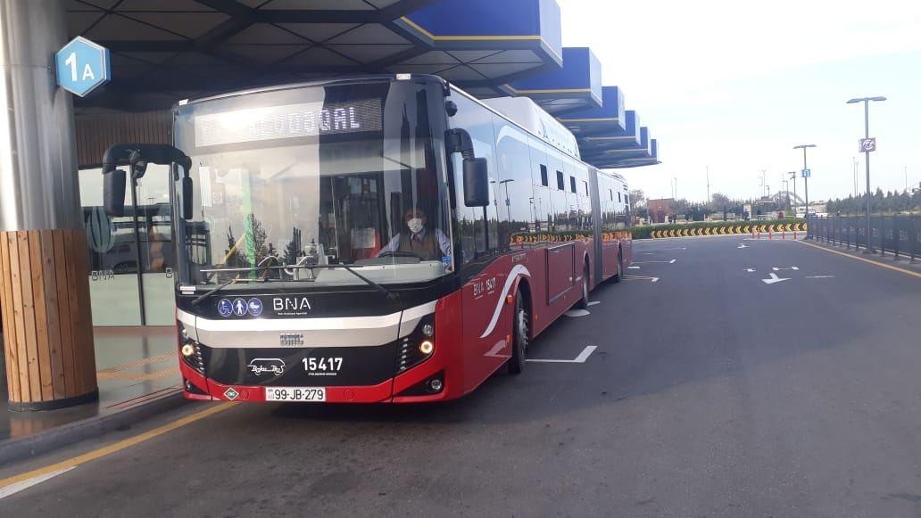 В Баку открылась еще одна линия экспресс-автобусов