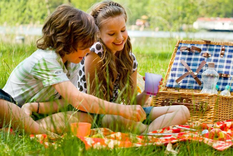Детский игровой пикник от Ecotour
