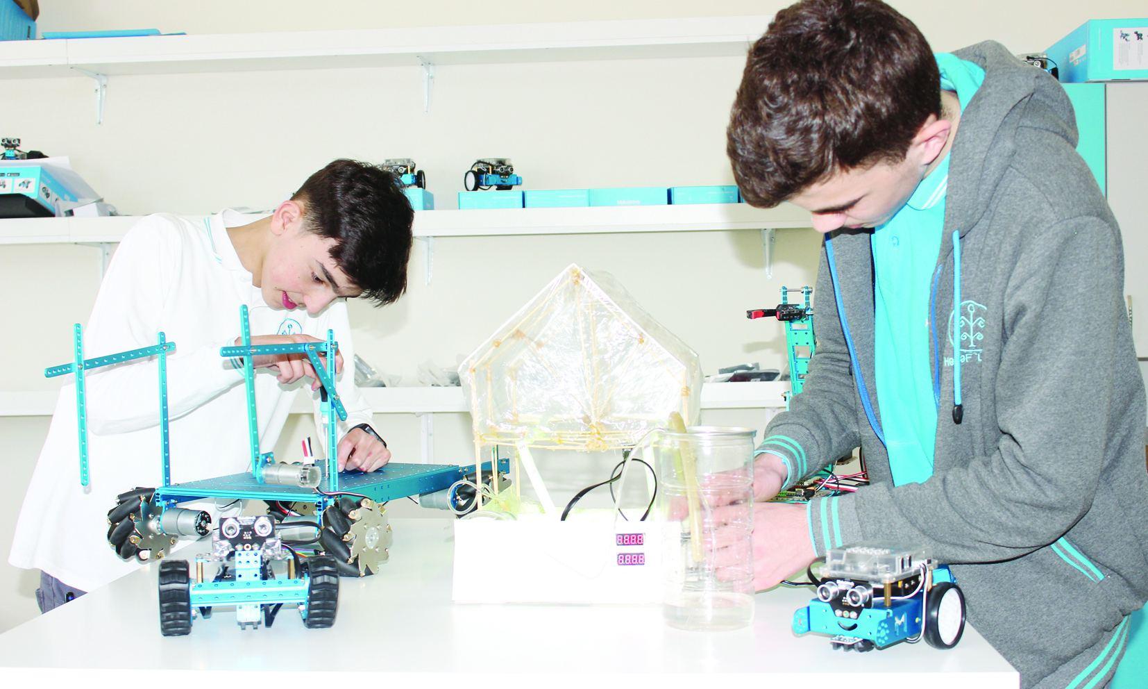 В педагогическом университете открылась лаборатория STEAM