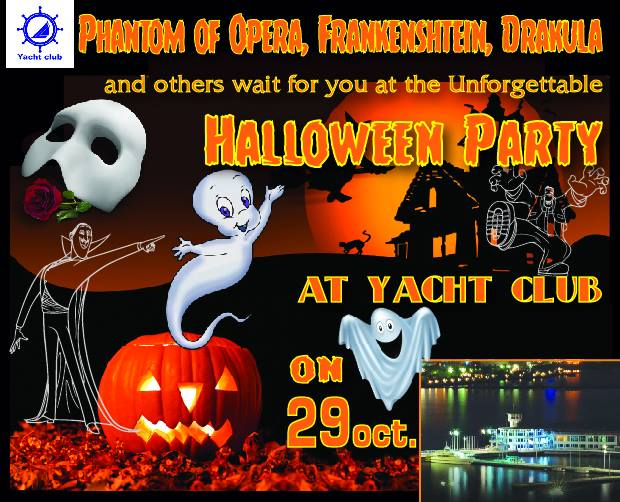 """""""Halloween Party at Yacht klub"""""""