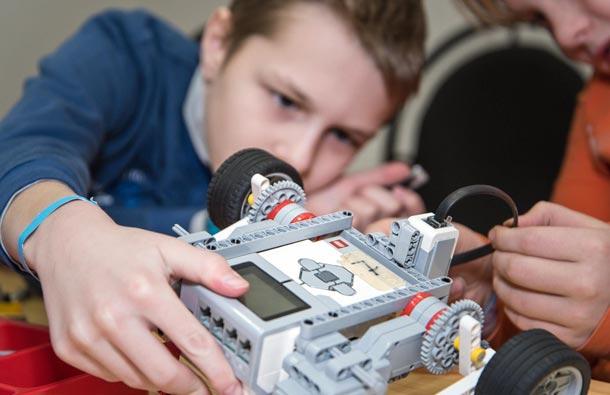 Мастер-класс по робототехнике на каникулах
