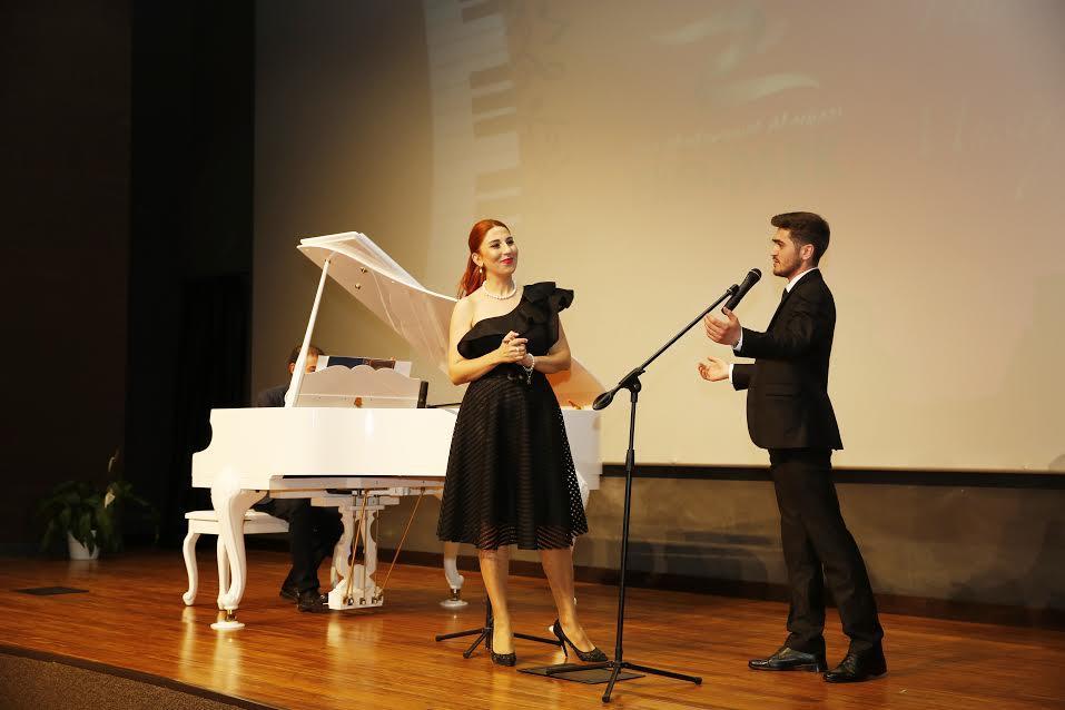 Детский концерт ансамбля Фидан Гаджиевой