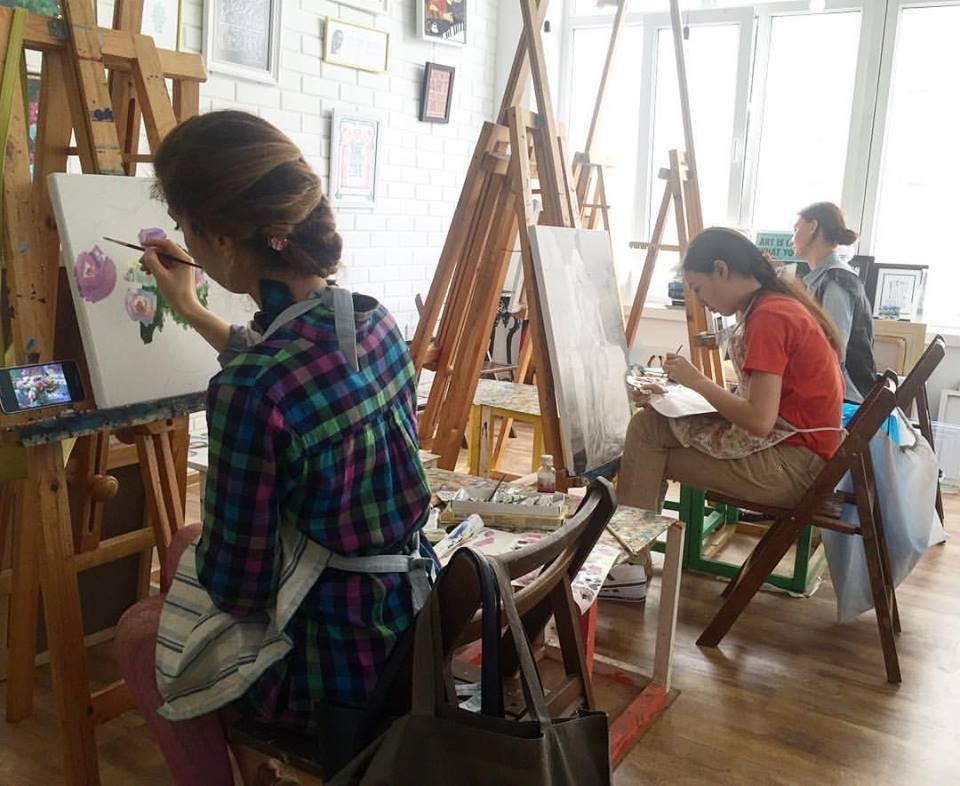 Art School by Alyona Bandurina
