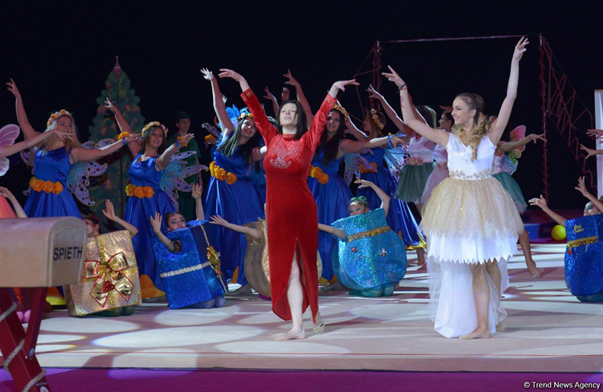 Новогоднее шоу от Федерации гимнастики