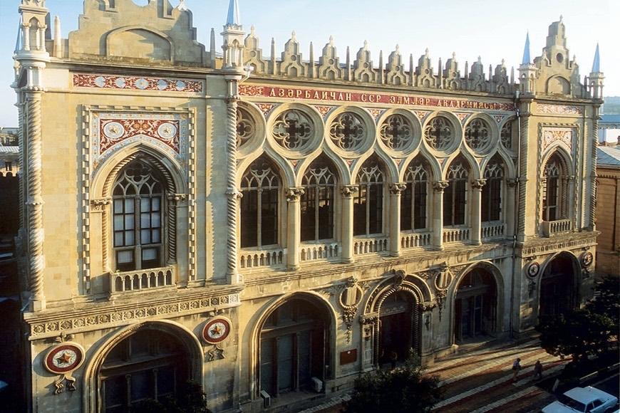 Прогулки по Баку: История дворца Исмаилия