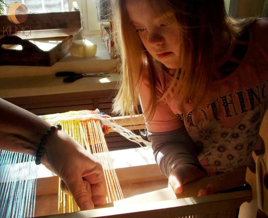 Курсы ковроткачества для Солнечных детей