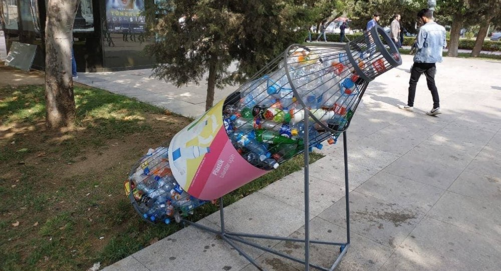 Новые контейнеры по сбору пластика уже в городах республики