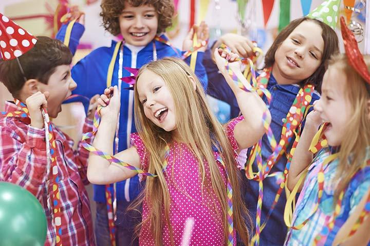 Новогодняя вечеринка для детей в