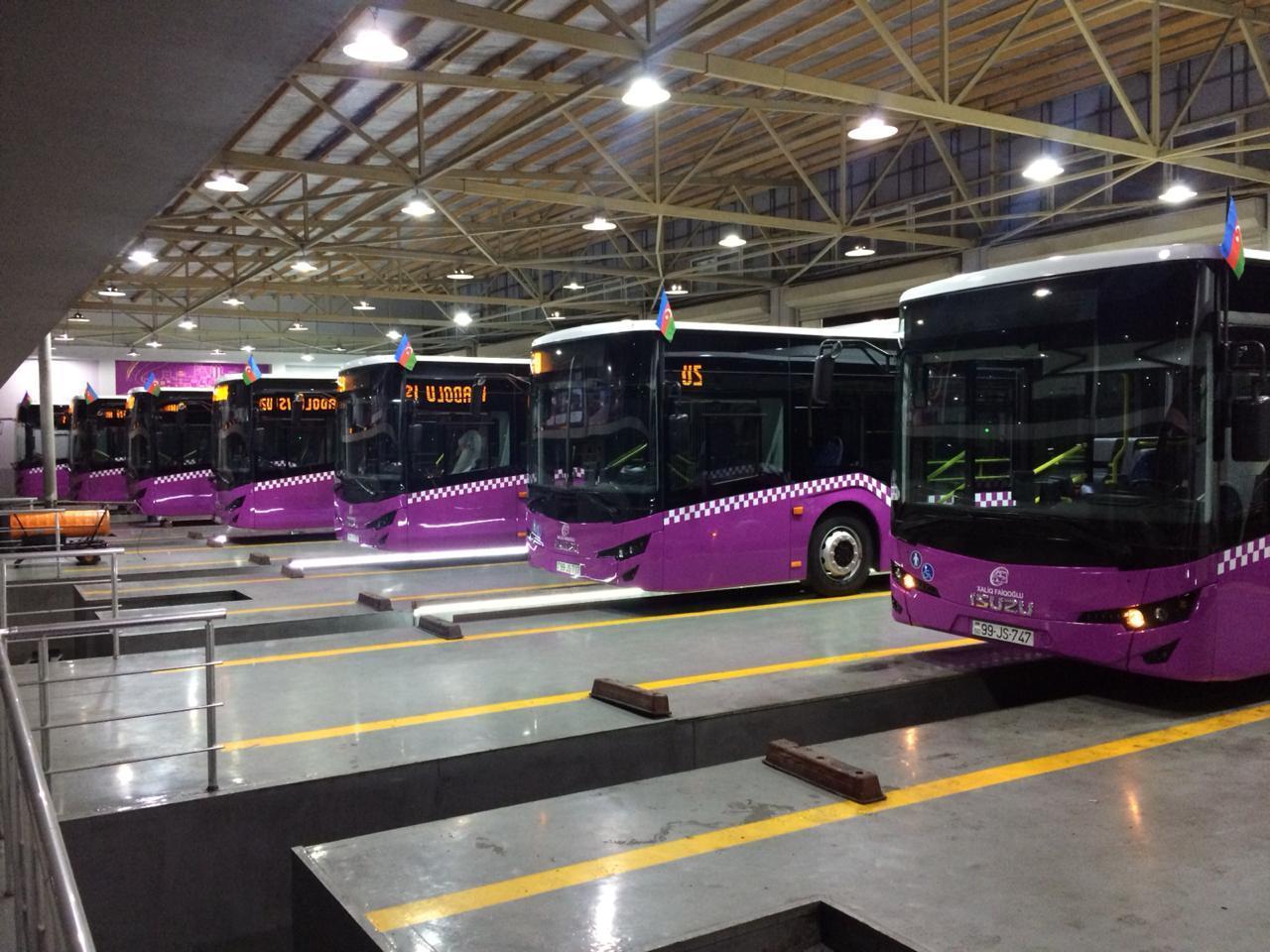 В Баку доставят автобусы нового поколения