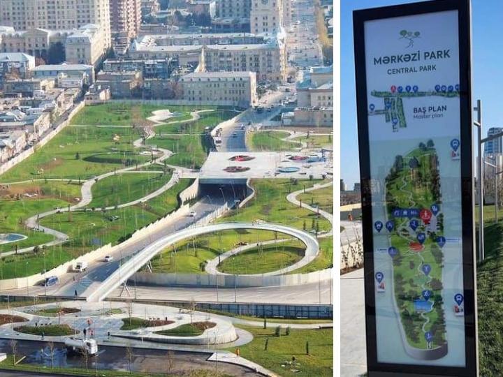 В Баку появится свой «Central Park»
