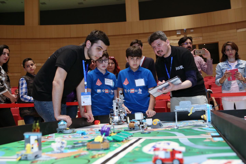 В Азербайджане пройдёт международная олимпиада «FIRST LEGO League»
