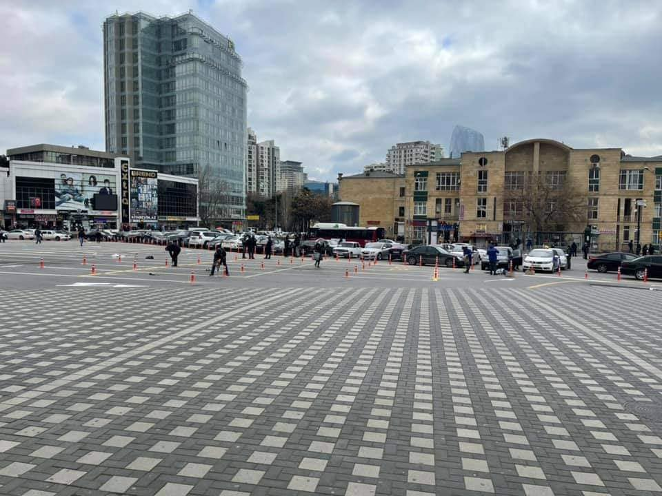 Привокзальная площадь в Баку изменит свой облик