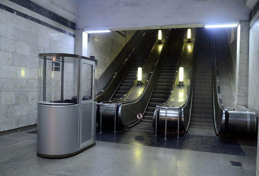 На одной из станций в эксплуатацию введен эскалатор