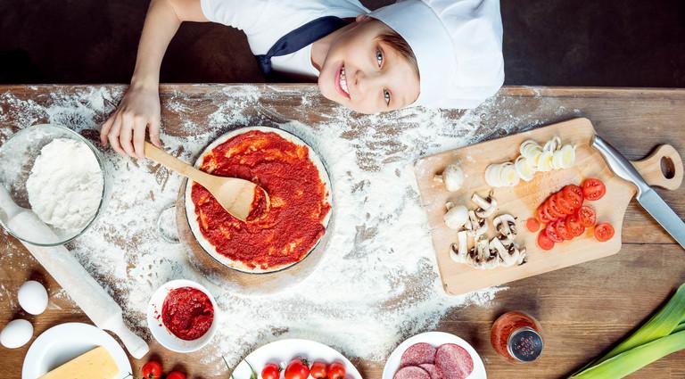 Кулинарный мастер-класс в кафе