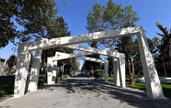 В Баку открылся парк Ататюрка после ремонта