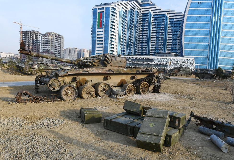 Парк военных трофеев откроется с 14 апреля