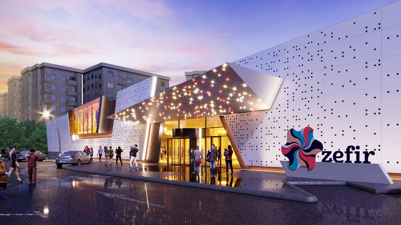 В Баку строится торговый центр