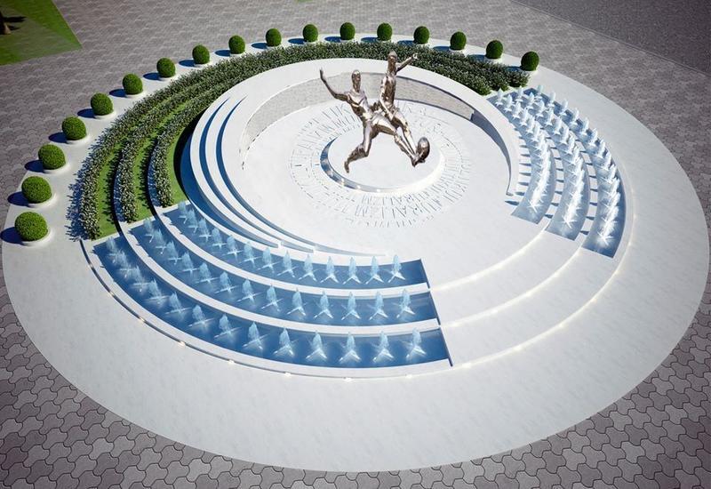 В Азербайджане строится уникальный стадион