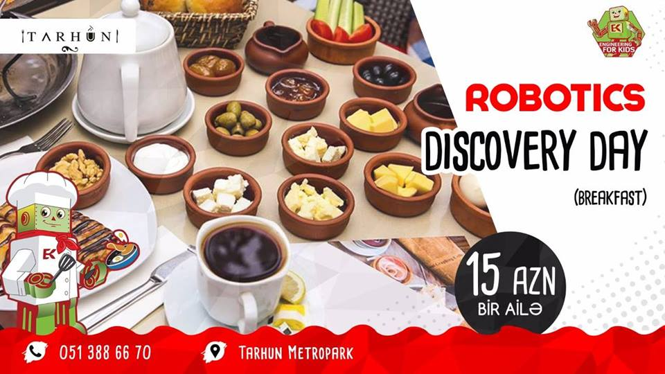 Robotics Discovery Day