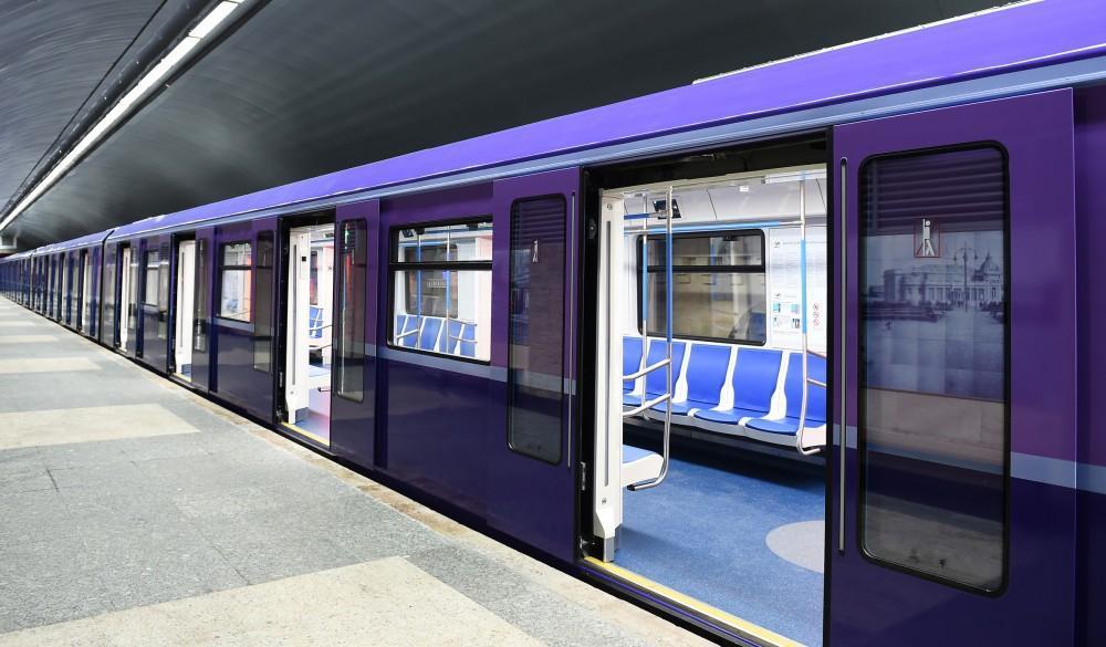 Впервые в истории бакинского метро поезд будет водить женщина