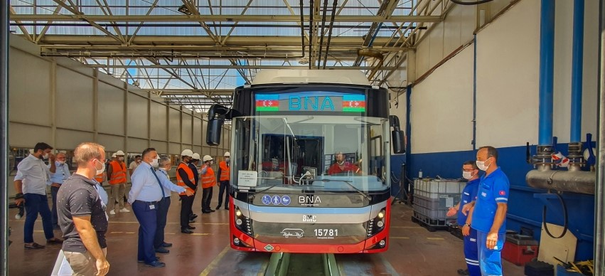 В Баку доставят 115 новых автобусов