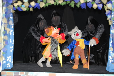"""Спектакль """"Приключения Пиноккио"""""""