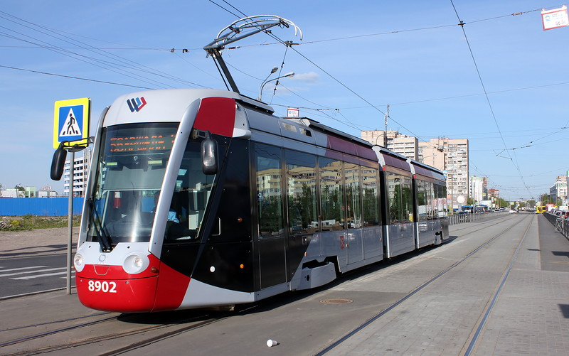 Улицы, по которым пройдут маршруты трамваев