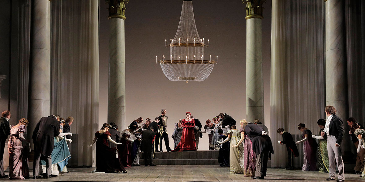В Баку будет представлен спектакль «Евгений Онегин»