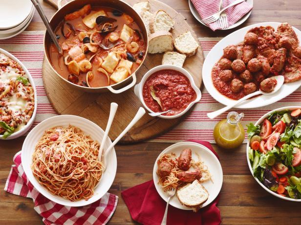 Итальянский семейный вечер в