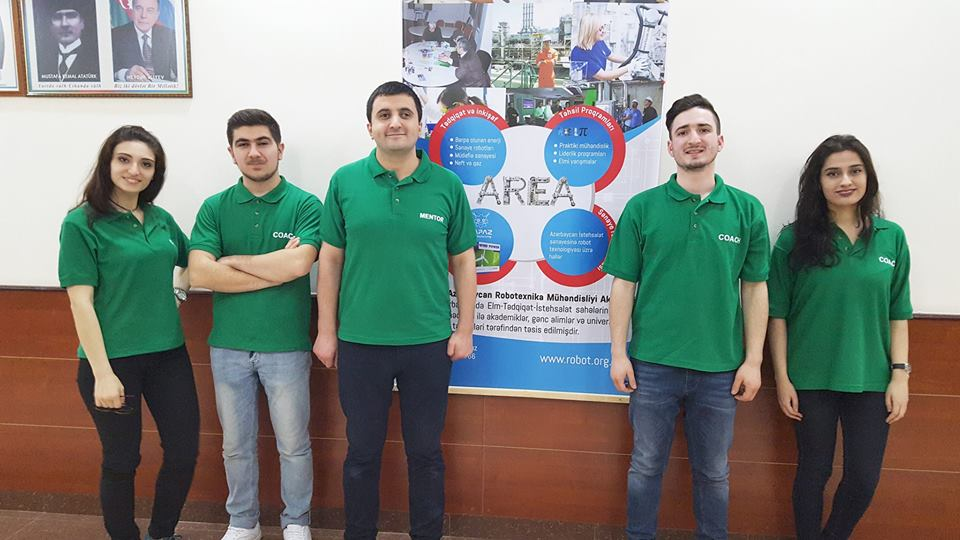 AREA - Azerbaijan Robotics Engineering Academy