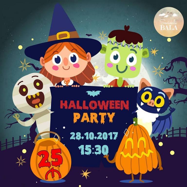 """Halloween party в """"Sevimli Bala"""""""