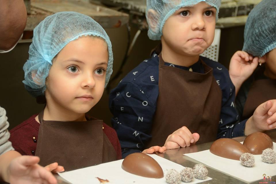 Шоколадные мастер-классы в