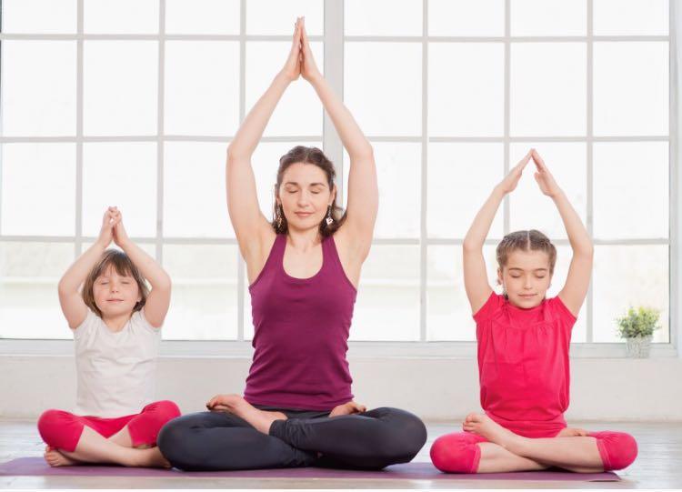 Бесплатное занятие по йоге для детей