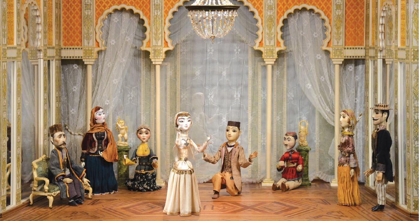 Спектакль марионеток
