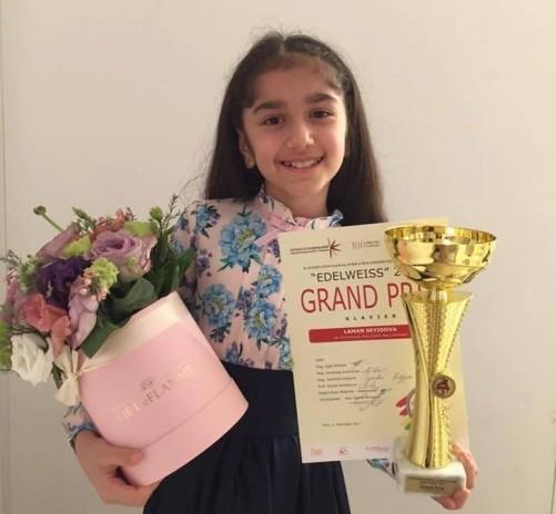 Азербайджанская школьница стала победительницей на конкурсе пианистов в Австрии
