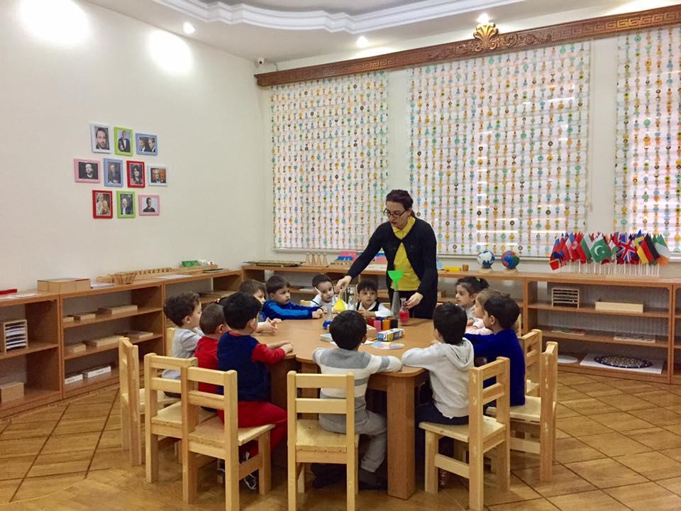 """Образовательный центр """"Qızıl Açar Montessori"""""""