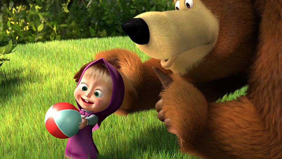 """Спектакль """"Маша и Медведь. Очень детективная история"""""""