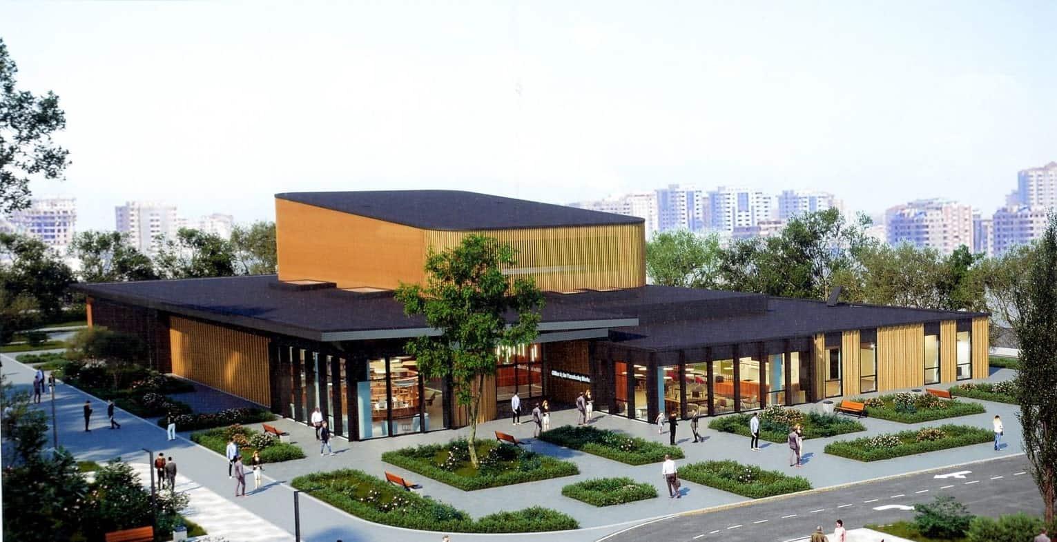 В Баку строится Творческий центр для инвалидов