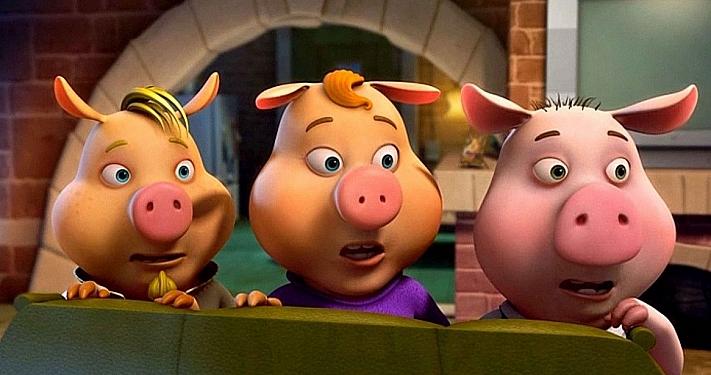 Спектакль «Три Поросёнка» в