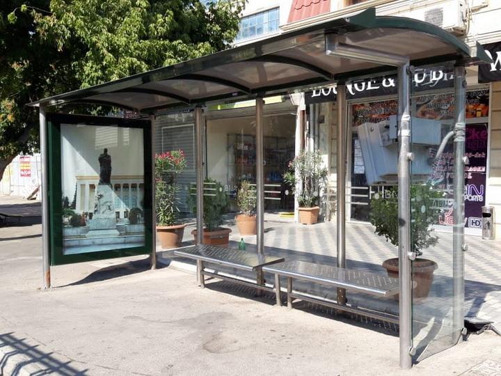 В Баку установлено еще 78 автобусных остановок