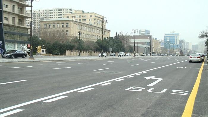 Одну из главных улиц Баку пересекут две новые дороги