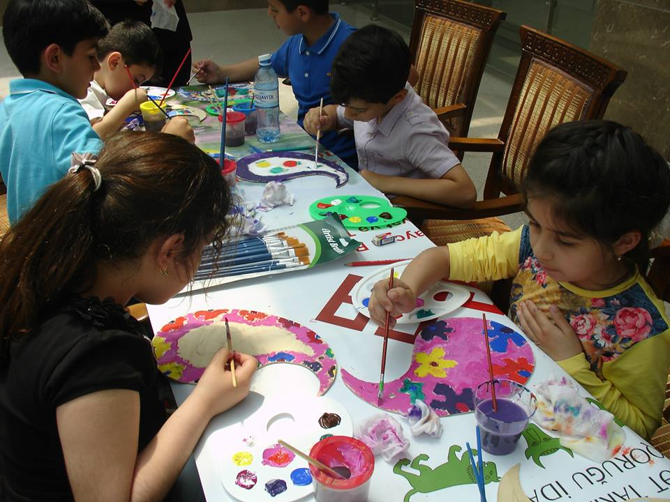 Детские мероприятия в Музее искусств
