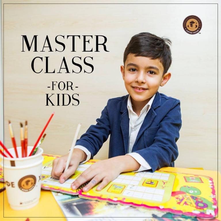 Мастер-классы для детей в Coffee House
