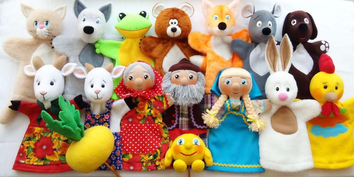 Кукольный спектакль в студии
